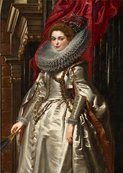Rubens, Peter Paul: Marchesa Brigida Spinola Doria. Fine Art Print/Poster. Sizes: A1/A2/A3/A4 (002125)